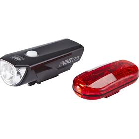 CatEye GVOLT25/OMNI3G - Kit éclairage vélo - EL360GRC/LD135G noir